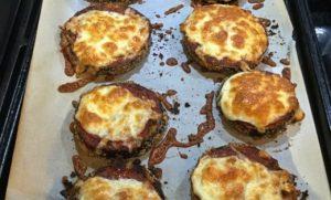 berenjenas rebozadas con queso