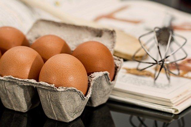 ingredientes omelette con pollo