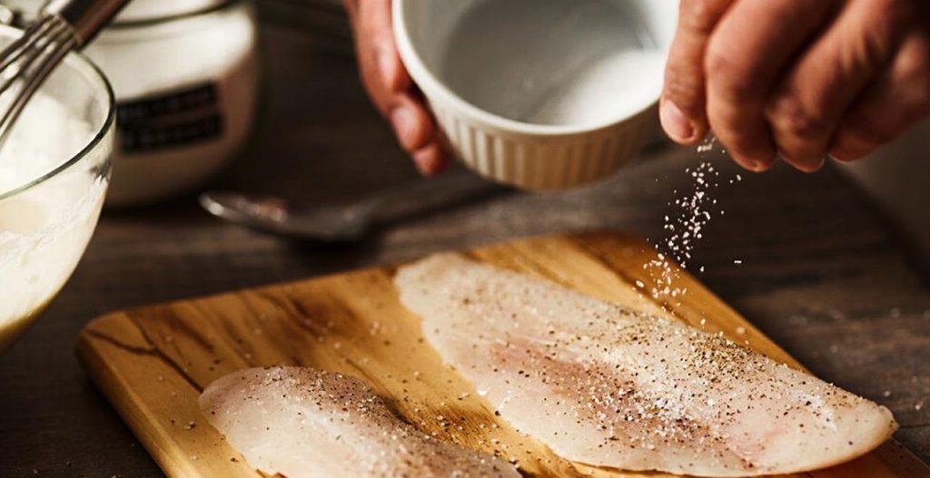 preparación del lenguado al horno