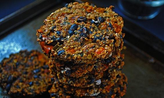 hamburguesas de quinoa y avena