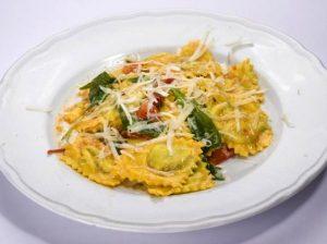 ravioles de ricota y verdura
