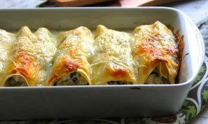 receta canelones de verdura