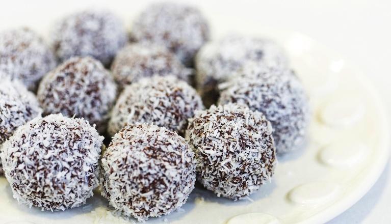 receta trufas de coco