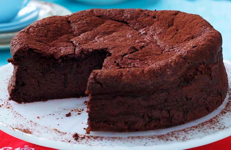 torta de remolacha y cacao