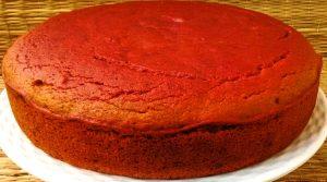 torta de remolacha y naranja